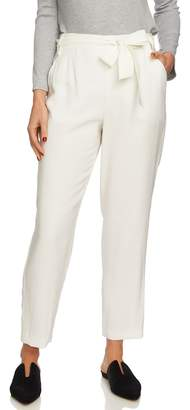 1 STATE 1.STATE Tie Waist Tapered Pants