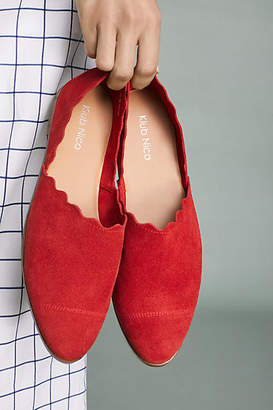 Klub Nico Georgette Scalloped Flats