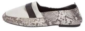 NewbarK Embossed Leather Loafers