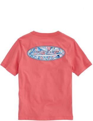 Vineyard Vines Boys Surf Logo Fill Marlin & Starfish T-Shirt
