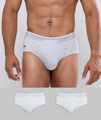 Lacoste Colors 2 Pack Briefs in Cotton Stretch