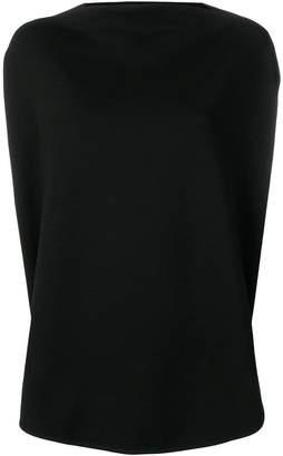 MM6 MAISON MARGIELA side slit jersey top