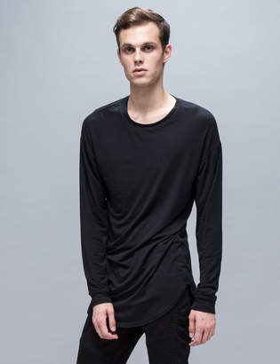 Represent Long Sleeve Under Scooped T-Shirt