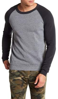 Alternative Colorblock Raglan Fleece Pullover