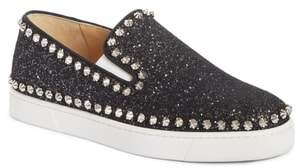 Christian Louboutin Spike Slip-On Sneaker