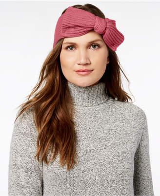 Kate Spade Solid Bow Knit Headband