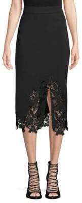 Jonathan Simkhai Lace Pencil Skirt