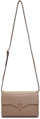 Valentino Pink Garavani Medium Rockstud Flap Bag