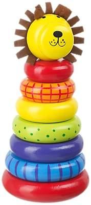 Orange Tree Toys Lion Stacking Rings