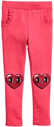 H&M Jersey Treggings - Pink