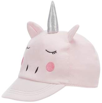 bluezoo - Baby Girls' Pink Unicorn Cap