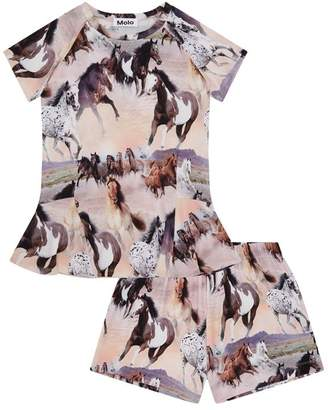Molo Wild Horses Pyjama Set