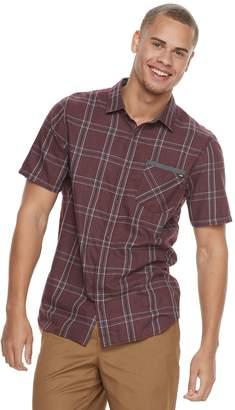 Vans Men's Prapper Plaid Button-Down Shirt
