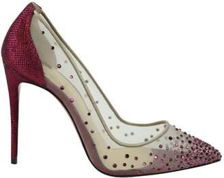 Christian Louboutin Pink Cloth Heels