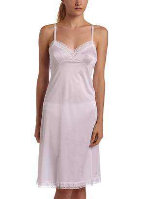 Vanity Fair Women's Rosette Lace Full Slip 10103