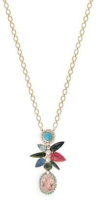 Irene Neuwirth 18kt Gold, Diamond & Multi Stone Pendant Necklace - Womens - Multi