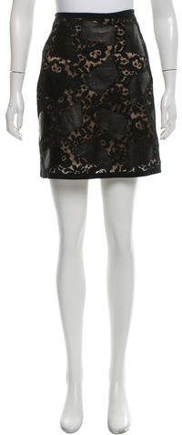 3.1 Phillip Lim 3.1 Phillip Lim Lace Mini Skirt