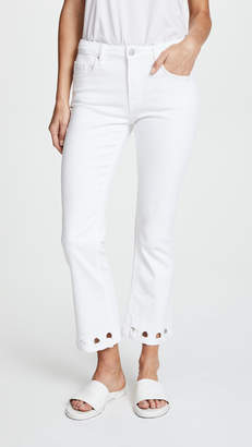 Victoria Beckham Victoria Mini Flare Jeans