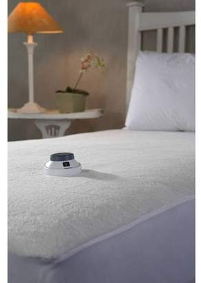 Safe and Warm Plush Velour Low Voltage Electric Heated Mattress Pad