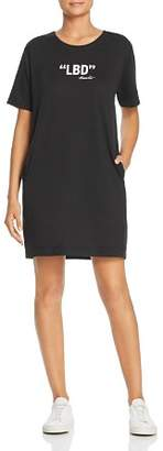Kenneth Cole LBD Logo Tee Dress
