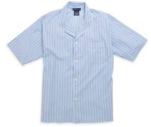 Polo Ralph Lauren Short-Sleeved Plaid Woven Pajama Top