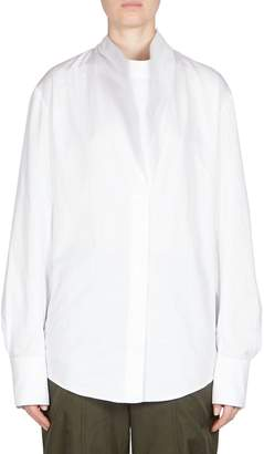 Stella McCartney Women's Cotton Cowlneck Shirt