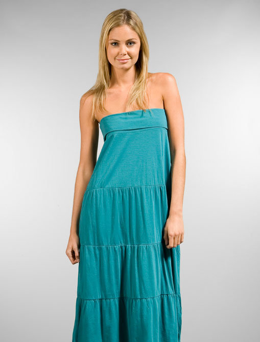 Michael Stars Convertible Tiered Maxi Skirt & Tube Dress