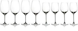 Riedel Veritas Cabernet/Merlot & Chardonnay/Viognier Wine 8 Piece Value Set