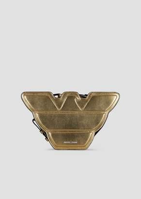 696d06bf23ab Emporio Armani Gold Handbags - ShopStyle