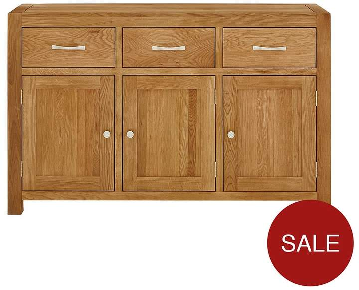 Luxe Collection - Suffolk 100% Solid Oak Ready Assembled Large Sideboard