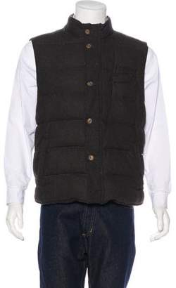 Eleventy Quilted Wool Vest