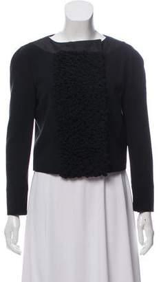 Giambattista Valli Wool-Blend Cropped Jacket w/ Tags