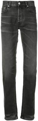 Stone Island faded straight leg jeans