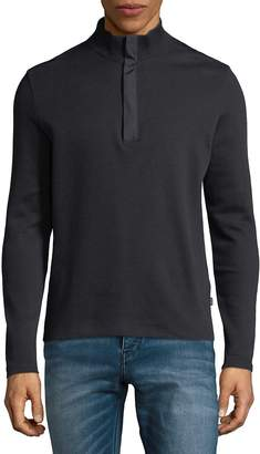 HUGO BOSS Men's Quarter-Zip Sweater