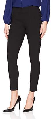 Lark & Ro Women's Slim Ankle Stretch Legging Pant: Comfort Fit