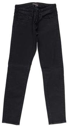 The Kooples Sport Low-Rise Skinny Jeans