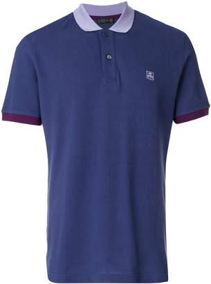 Corneliani logo polo shirt