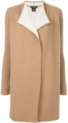 Sofia Cashmere oversized cardi-coat