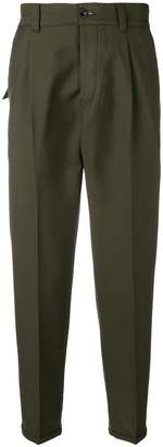 Pt01 relaxed straight trousers
