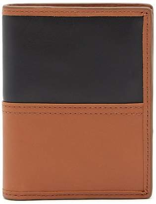 Fossil Tate International Combi Leather Wallet