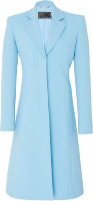 Versace A-Line Crepe Coat