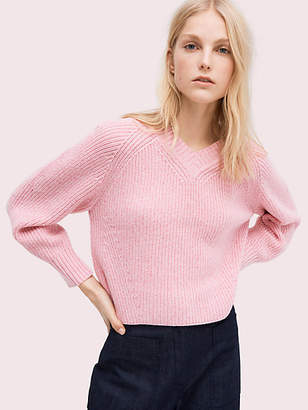Kate Spade Color pop v-neck sweater