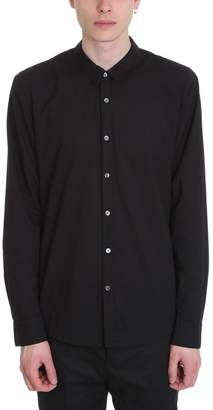 James Perse Black Cotton Shirt