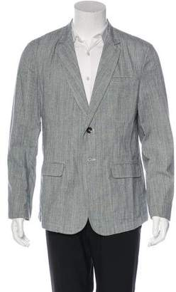 Rag & Bone Deconstructed Notched-Lapel Blazer