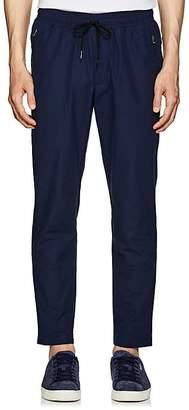 Leon Aime Dore Men's Peach Skin Cotton-Blend Pants