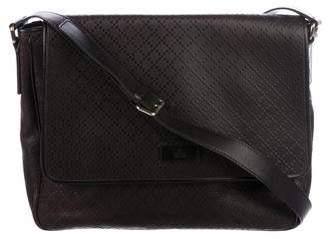Gucci Medium Diamante Messenger Bag