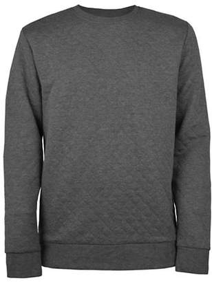 ONLY & SONS Quilted Crew Neck Sweater