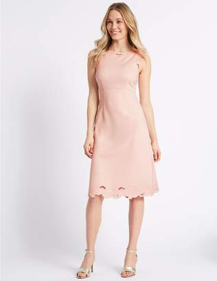 Marks and Spencer Embroidered Jersey Shift Dress