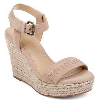 Splendid Women's Shayla Suede Espadrille Wedge Heel Sandals