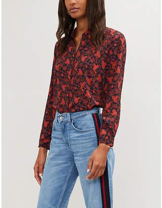Claudie Pierlot Printed woven shirt